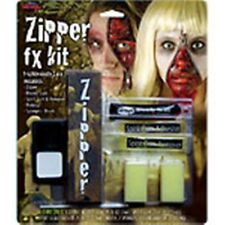 Kit de terror de Cremallera-Halloween Efectos Especiales Maquillaje De Halloween