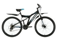 "BOSS StealthMens' Mountain Bike Black, 26"" inch steel frame, 21 speed front and"