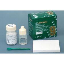 3 X GC Gold Label 9 High Strength Radiopaque Posterior Glass Ionomer Restorative