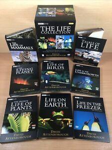 The Life Collection - David Attenborough - BBC Earth - UK 24-Disc DVD BOX SET