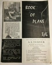 More details for vintage mid century book of house plans 1960s architecture - a.s tickner