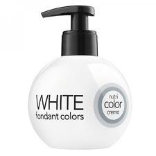(58,70/1L) Revlon Nutri Color Creme Fondant Colores 000 White - 250ml
