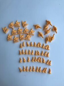RISK Global Domination Replacement YELLOW Armies Army Pieces -1998 HASBRO