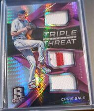 Chris Sale 2017 Spectra Triple Threat Relic /15