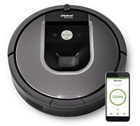 iRobot Roomba 960 WIFI Vacuum Robot with Accessories in the Original BoX