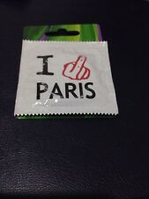 I **** PARIS CONDOM FROM PARIS BRAND NEW FUNNY SAYING BEST PRICE!
