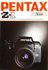 Pentax Z-1 Prospekt brochure - (0342)