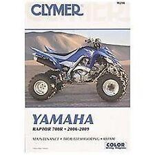 Yamaha Raptor 700R 2006-2009 (Clymer Motorcycle Repair), Penton Staff, Acceptabl