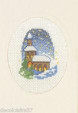 Permin  17-1251  Voeux de Noel  Kit  Broderie  Point de Croix  Compté