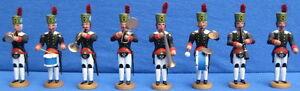 Historische Bergparade 8x Bergmann / Bergleute Musiker Fa. Werner Seiffen