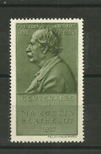 France/1927 Marcellin Berthelot Centenary of Birth poster stamp/label