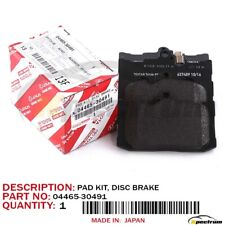 FACTORY OEM LEXUS NEW FRONT F-SPORT BRAKE PADS 04465-30491 GS350/450H/200T