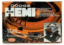 Testors Dodge Hemi 426 Motor 1:4 Scale Lot 2185