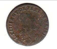 LOUIS XIV  LIARD DE FRANCE BUSTE JUVENILE 1656 i