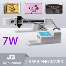 7000mW DIY Laser Graviermaschine Engraving  USB Engraving DIY 3D