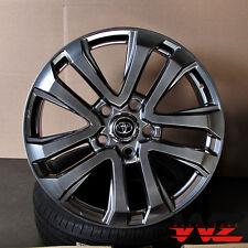 "22"" Toyota Tundra Sequoia Factory Style Hyperblack Wheels 5x150 Tundra Rims"