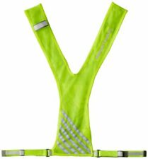 Breathable Mesh Reflective Vest for Visibility in Low Light Conditions - Yellow