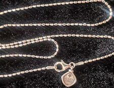 Silpada Sterling Silver Sparkly Bead Ball Chain Charm Necklace - Rare