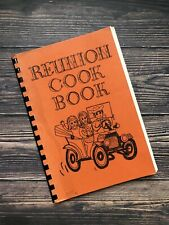 Vintage Reunion Cookbook Harmon Hodel Families Oklahoma Texas