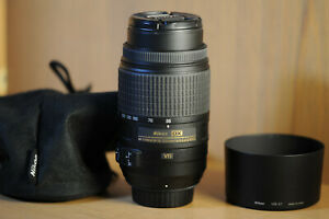 Nikon Nikkor 55-300mm f/4.5-5.6 ED VR DX G Lens AS NEW!