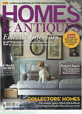 HOMES & ANTIQUES,      NOVEMBER, 2014    ISSUE, 262   ( ECLECTIC INTERIORS )