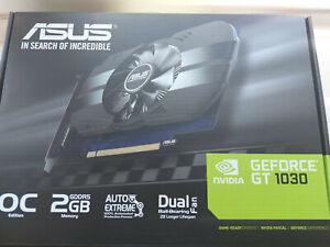 ASUS PH-GT1030-O2G GeForce GT 1030 2GB GDDR5 Graphics Card