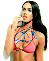 Autographed Megan Fox Hand Signed 8 X 10 photo Super Hot signed in person w/COA