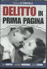 Delitto in prima pagina (1950) DVD