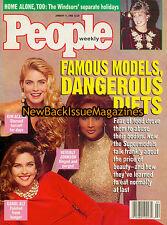People 1/93,Kim Alexis,Beverly Johnson,Carol Alt,Princess Diana,NEW