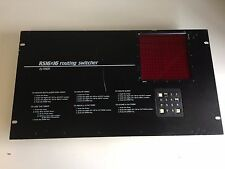 KNOX RS16x16  Video Routing Switcher 16 Channel Tested,Working