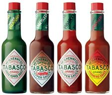 Tabasco Pepper Sauce - Set of 4 Flavours - Boxed