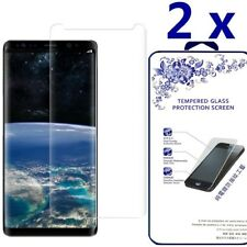 2X For Samsung Galaxy Note 8 HD Tempered Glass Screen Protector