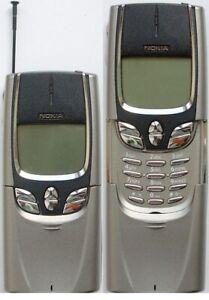 Nokia 8890 - Metallisch-Grau (Ohne Simlock) Handy