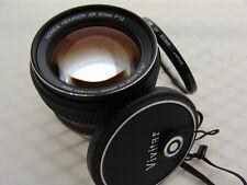 KONICA HEXANON AR 57mmF1.2 Lens Pretty w/filter caps #510165