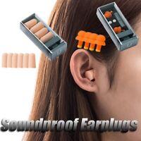 Soundproof Earplug Light Silicone Sleeping Foam Travel Earplug Mute 3Color t