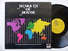 Musiques du monde CHINE IRAK TIBET TOGO NIGERIA OCEANIE PEROU BRESIL 391303