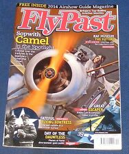 FLYPAST MAGAZINE APRIL  2014 - SOPWITH CAMEL IN THE SPOTLIGHT