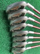 Ping i10 Irons 3-PW. Silver code Never Been Used. Just In Storage. Reg Graphite