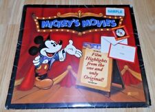 """Mickey's Movies - Calendar Gift Set from 1996 - Has """"Sample"""" Sticker"""
