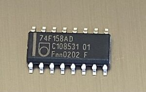 50 x PHILIPS  74F158AD IC CHIPS