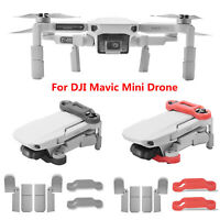 Per DJI Mavic Mini RC Drone Extended Landing Gear Leg Support + Propeller Holder