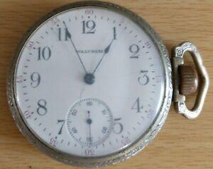 Vintage Men's Waltham Pocket watch