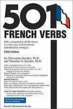 501 French Verbs (501 Verb Series)