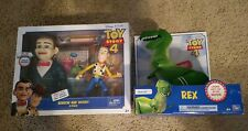 TOY STORY 4 REX, BENSON  AND WOODY Walmart Exclusive