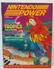 Nintendo Power Magazine W/ Metal Storm Poster  Volume 21 February 1991