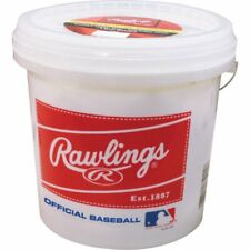 Baseball Bucket 24 Pack Of Official League Recreational Grade OLB3/R8U Baseballs