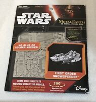 Metal Earth 3D Metal Model Kit - STAR WARS - F.O. Snowspeeder