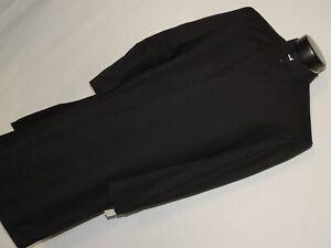 Dara Collection Men's Nehru Collar Black Zoot Suit jacket size 40 R
