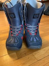 Burton Freestyle Men's Snow Board Boots US Size 9.5 - Good Condition