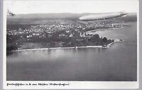 582 Friedrichshafen Luftaufnahme Zeppelin 1932 Ansichtskarte LIQUIDATION